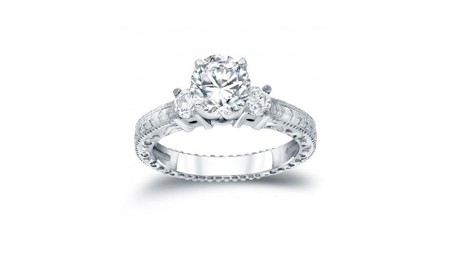 The Symbolic Meaning: Three-Stone Engagement Ring
