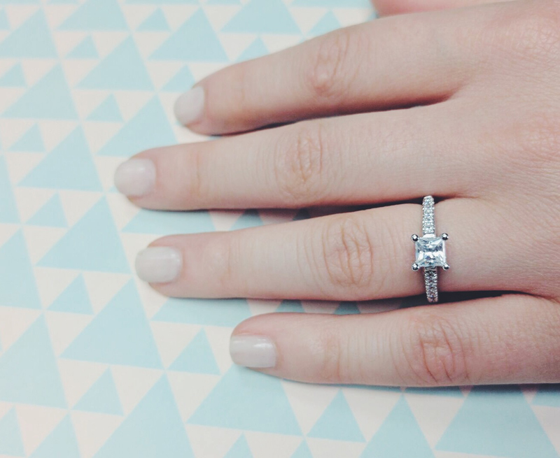 Most Popular Simple Engagement Rings