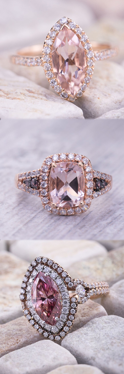Trending: Rose Gold Engagement Rings
