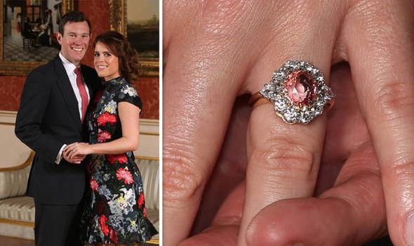 Princess Eugenie's Ring