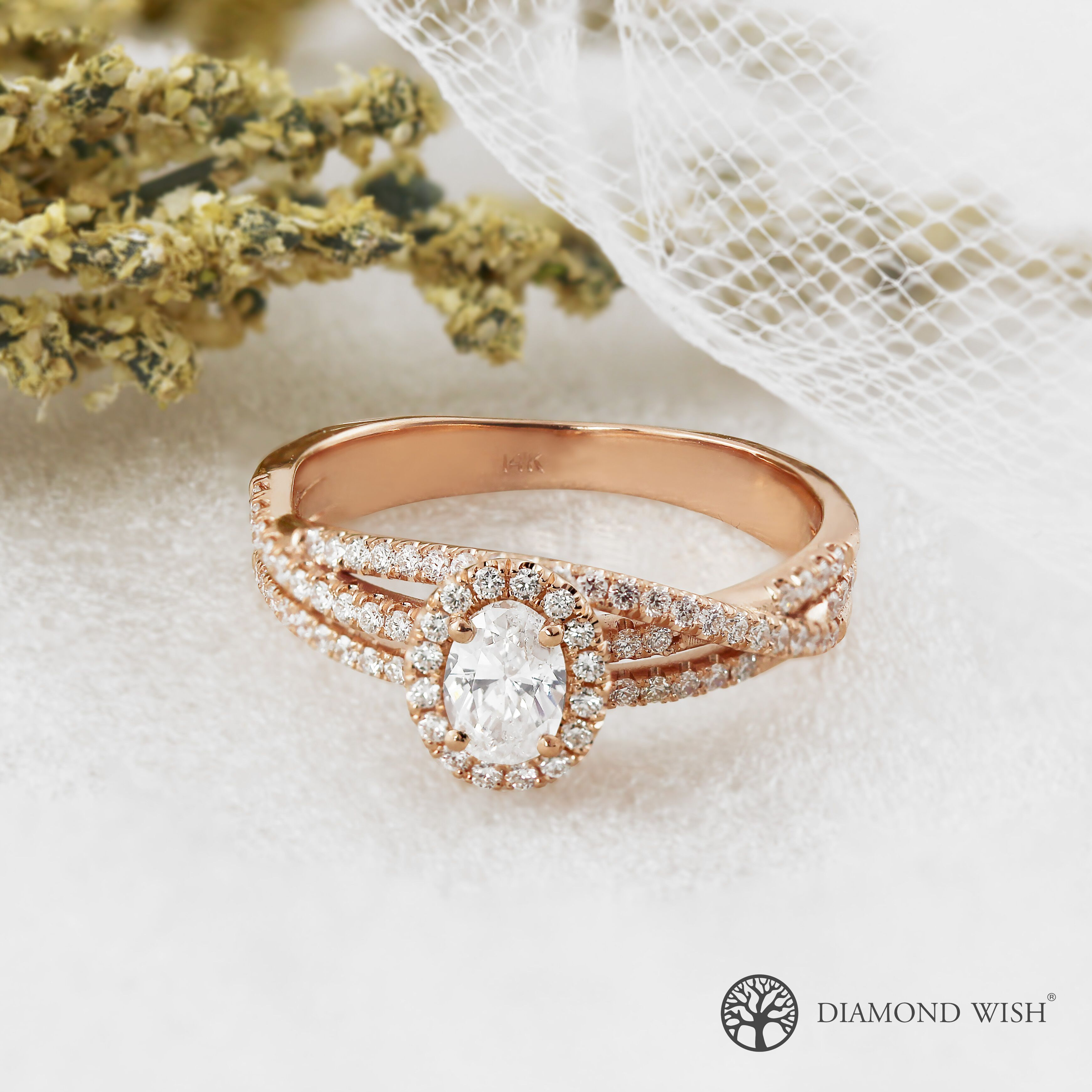 Modern Engagement Ring Styles: The Bypass Engagement Ring