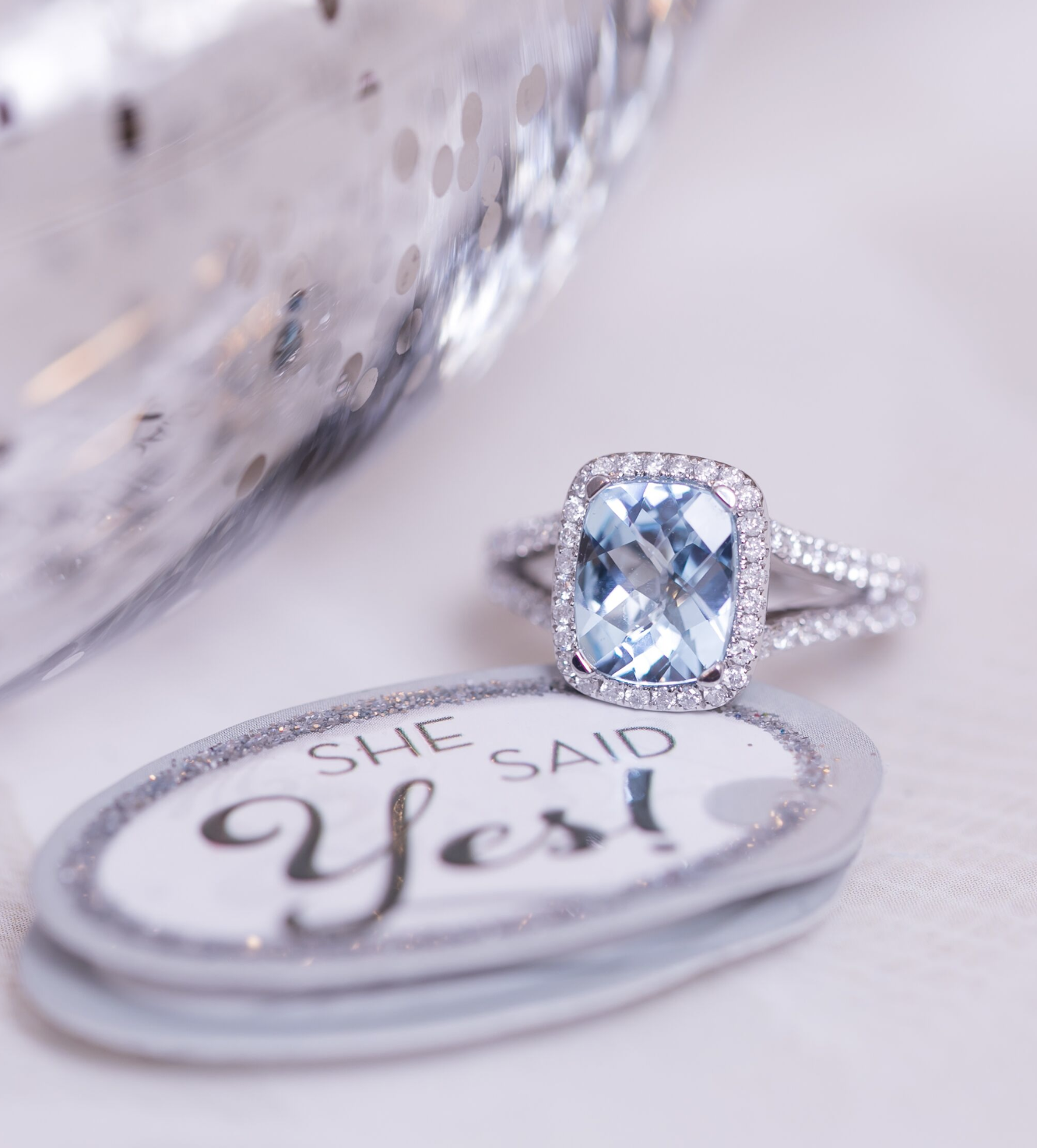 7 Alluring Aquamarine Engagement Rings