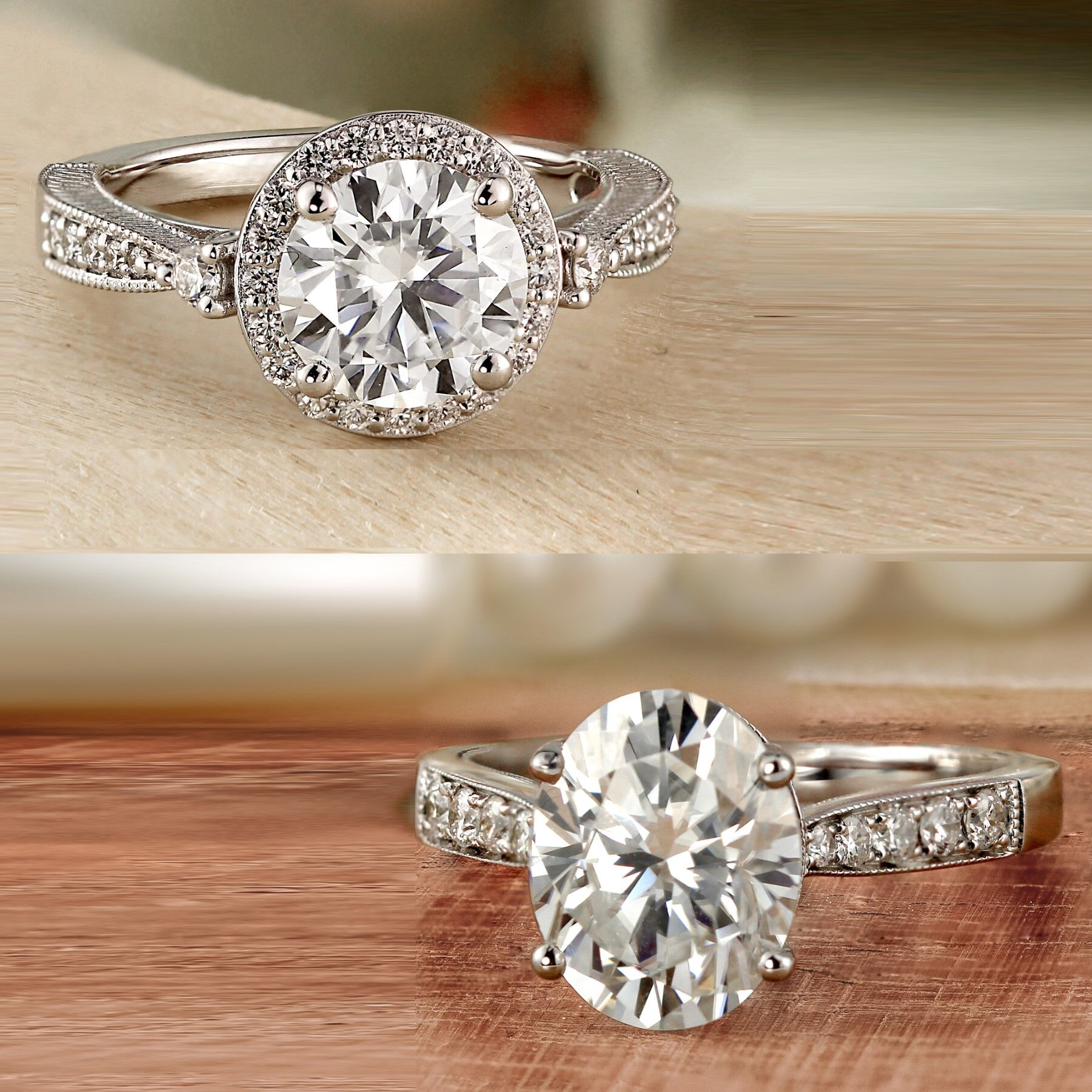 Round vs. Oval Engagement Rings: The Top Five Considerations