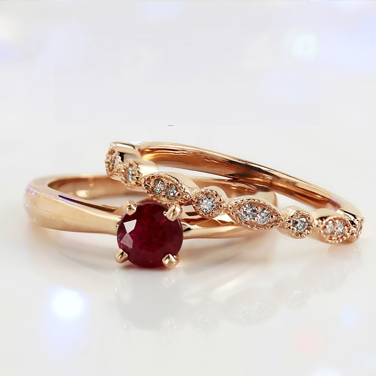 Fall Color Trends: Non-Traditional Engagement Rings