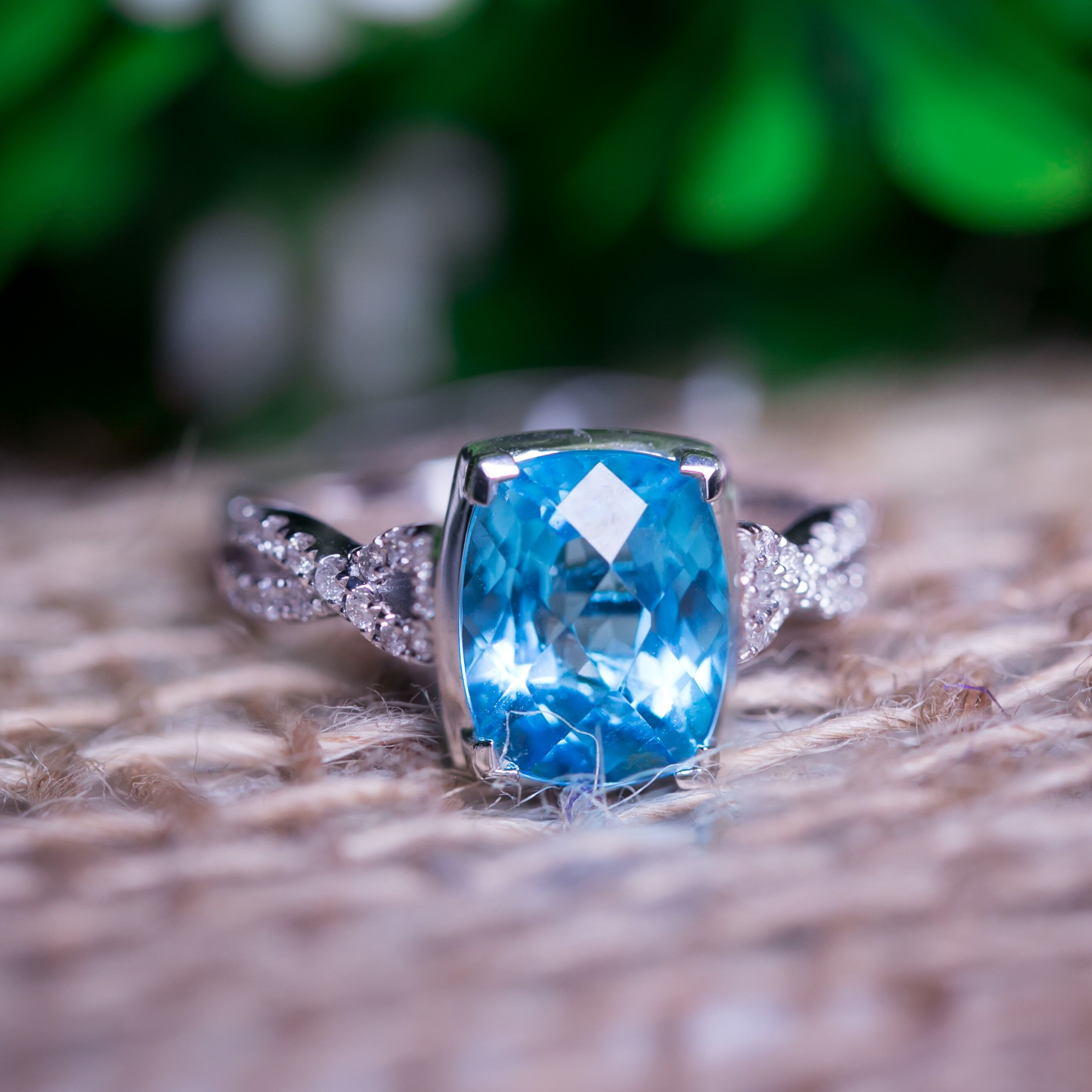 The Beautiful Blue December Stone: Blue Topaz