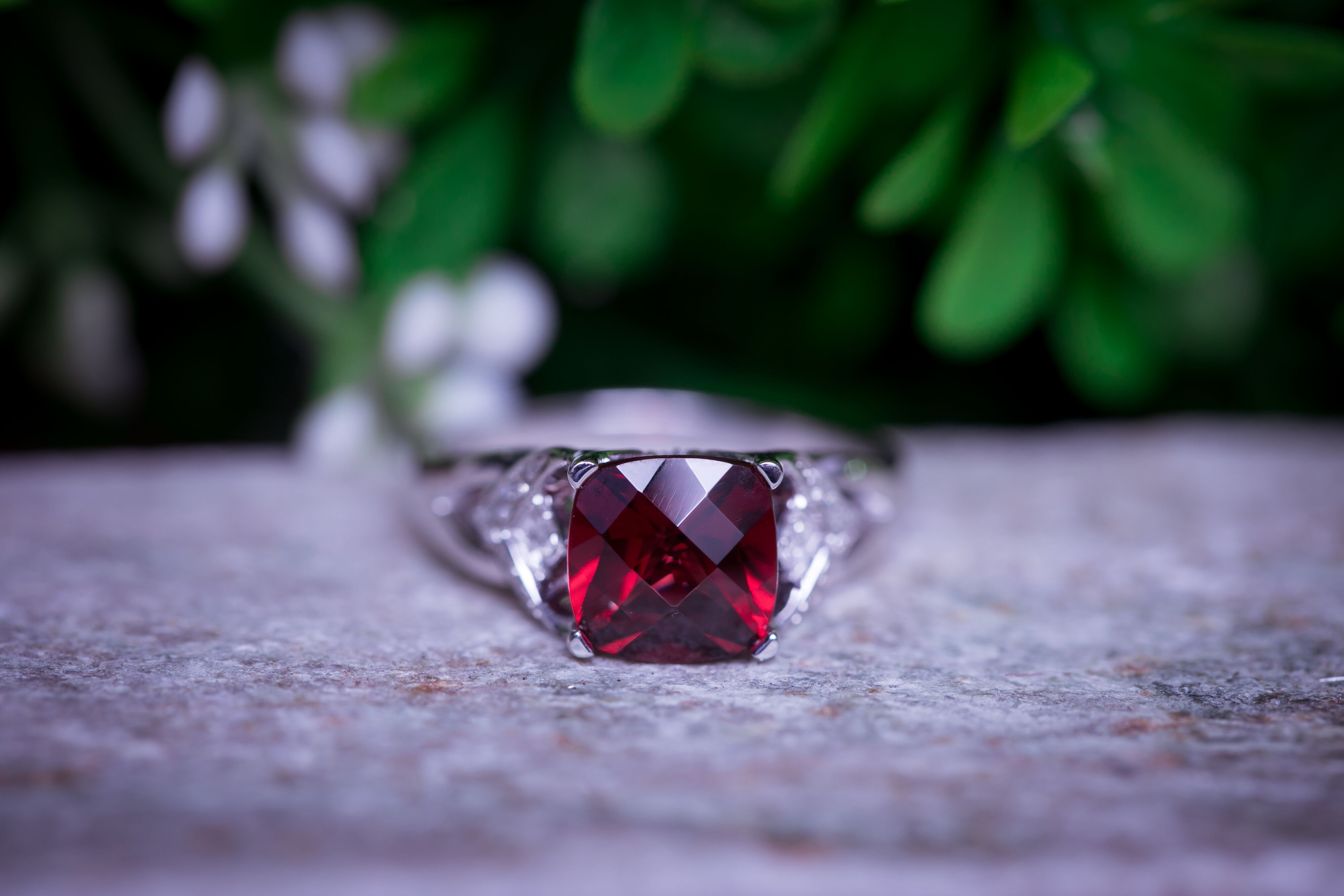 January's Gleaming Birthstone: Garnet Gemstone Rings
