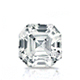 Certified 1.50 cttw Asscher Diamond Stud Earrings in 14k White Gold 4-Prong Basket (I-J, I1)