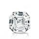 Certified 14k White Gold 4-Prong Basket Asscher Diamond Drop Earrings 1.50 ct. tw. (I-J, I1)