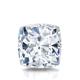 Certified 1.50 cttw Cushion Diamond Stud Earrings in 14k White Gold 4-Prong Basket (I-J, I1)