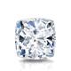 Certified 2.00 cttw Cushion Diamond Stud Earrings in 14k White Gold 4-Prong Basket (I-J, I1)