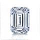 Certified 14k White Gold 4-Prong Basket Emerald Diamond Drop Earrings 2.00 ct. tw. (I-J, I1)