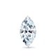 Certified 14k White Gold V-End Prong Marquise Diamond Drop Earrings 1.00 ct. tw. (I-J, I1)