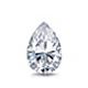 Certified 1.50 cttw Pear Shape Diamond Stud Earrings in 14k White Gold V-End Prong (I-J, I1)