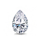 Certified 14k White Gold V-End Prong Pear Diamond Drop Earrings 1.50 ct. tw. (G-H, SI)