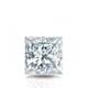 Certified 0.75 cttw Princess Diamond Stud Earrings in 14k White Gold 4-Prong Basket (I-J, I1)