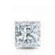 Certified 14k White Gold 4-Prong Basket Princess Diamond Drop Earrings 1.00 ct. tw. (I-J, I1)