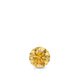 Certified 0.13 ct. tw. Round Yellow Diamond Solitaire Pendant in 14k White Gold 4-Prong Basket (Yellow, SI1-SI2)