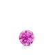 Certified 0.20 ct. tw. Round Pink Sapphire Gemstone Solitaire Pendant in 14k White Gold 4-Prong Basket (Pink, AAA)