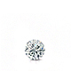 Certified 0.25 ct. tw. Round Diamond Solitaire Pendant in 14k White Gold 4-Prong Basket (G-H, SI)