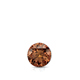 Certified 0.25 cttw Round Brown Diamond Stud Earrings in 14k White Gold 4-Prong Basket (Brown, SI1-SI2)