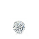 Certified 0.31 ct. tw. Round Diamond Solitaire Pendant in 14k White Gold 4-Prong Basket (G-H, VS)