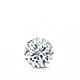 Certified 0.50 ct. tw. Round Diamond Solitaire Pendant in 14k White Gold 4-Prong Basket (G-H, VS)