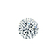 Certified 0.50 cttw Round Diamond Stud Earrings in 14k White Gold 4-Prong Basket (I-J, I1)