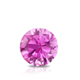 Certified 1.00 ct. tw. Round Pink Sapphire Gemstone Solitaire Pendant in 14k White Gold 4-Prong Basket (Pink, AAA)