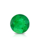Certified 1.00 cttw Round Green Emerald Gemstone Stud Earrings in 14k White Gold 4-Prong Basket (Green, AAA)
