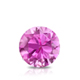 Certified 1.25 cttw Round Pink Sapphire Gemstone Stud Earrings in 14k White Gold 4-Prong Basket (Pink, AAA)