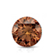 Certified 1.50 cttw Round Brown Diamond Stud Earrings in 14k White Gold 4-Prong Basket (Brown, SI1-SI2)