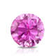 Certified 2.00 cttw Round Pink Sapphire Gemstone Stud Earrings in 14k White Gold 4-Prong Basket (Pink, AAA)