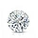 Certified 14k White Gold 4-Prong Basket Round Diamond Drop Earrings 2.00 ct. tw. (I-J, I1)