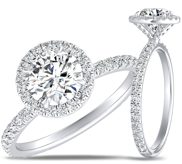 Preset Diamond Engagement Rings