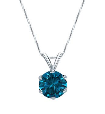 Blue Diamond Necklaces