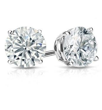 Preset Diamond Stud Earrings