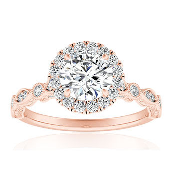 Preset Diamond Engagement Rings