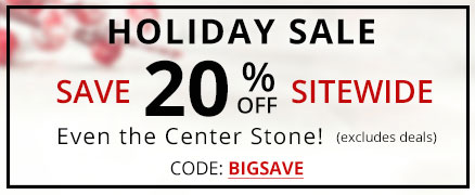 Holiday Sale Save 20% off Sitewide