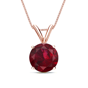 Ruby Pendants