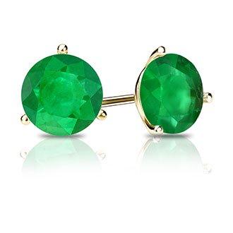 Emerald Studs