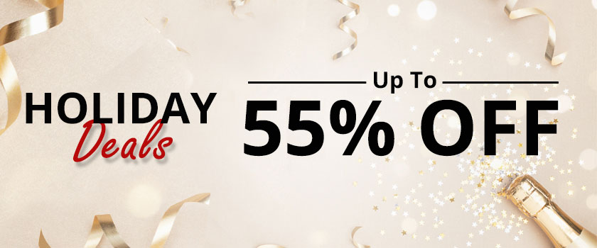 HOLIDAY Special Extra 50% off selected items