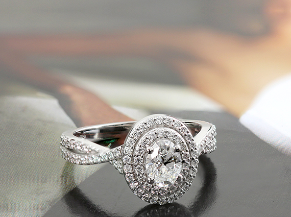 Pedding Engagement Ring