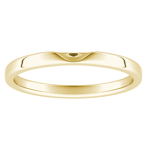 LANA Classic Stackable Wedding Ring In 14K Yellow Gold