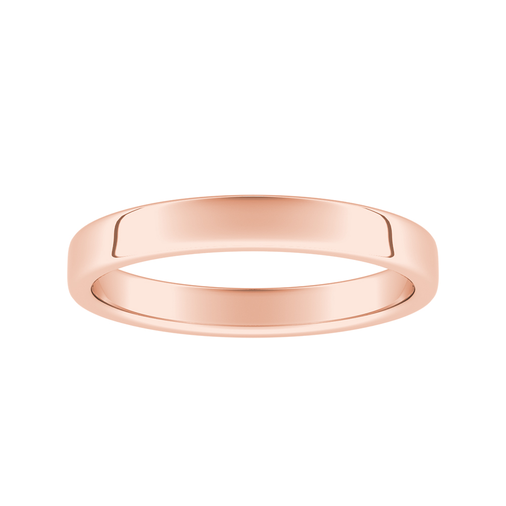 GIOVANNA Classic Wedding Ring In 14K Rose Gold