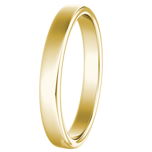 GIOVANNA Classic Wedding Ring In 14K Yellow Gold