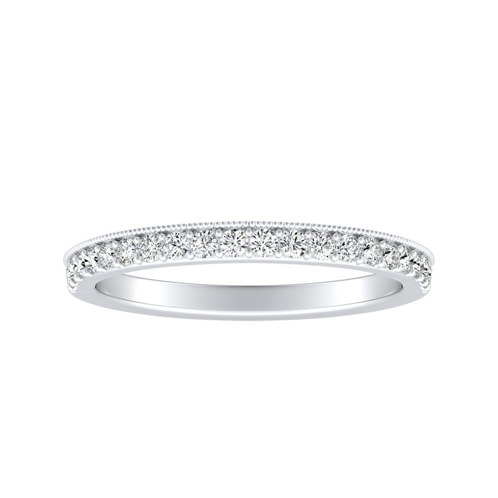 GIANNA Diamond Wedding Ring In 14K White Gold