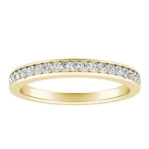 MARIA Classic Diamond Wedding Ring In 14K Yellow Gold