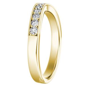 SOPHIE Diamond Wedding Ring In 14K Yellow Gold