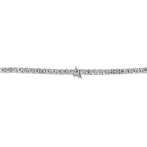 Certified 14k White Gold Round Diamond Tennis Bracelet 2.00 ct. tw. (I-J, I1) 7 inch