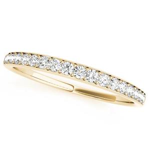OLIVIA Classic Diamond Wedding Ring in 14K Yellow Gold